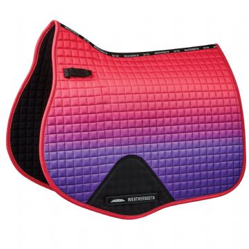 WEATHERBEETA PRIME OMBRE GP SHAPED SADDLE PAD (2)